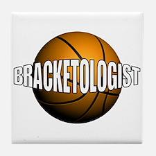 Bracketologist - Tile Coaster