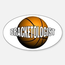 Bracketologist - Oval Decal