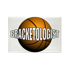 Bracketologist - Rectangle Magnet