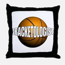 Bracketologist - Throw Pillow