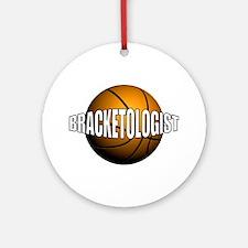 Bracketologist - Ornament (Round)