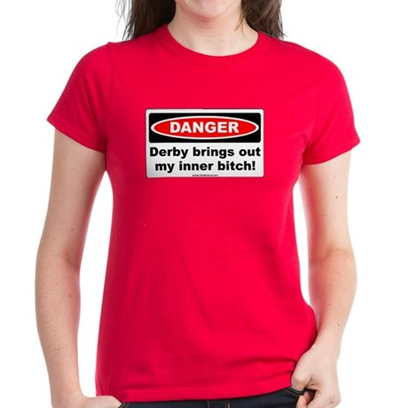 Derby Danger! Women's Dark T-Shirt