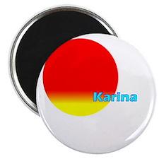 "Karina 2.25"" Magnet (10 pack)"