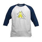 Endometriosis Month Kids Baseball Jersey