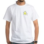 Pocket Endometriosis Month White T-Shirt