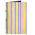Pink, Purple, Yellow Stripe Journal