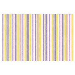 Pink, Purple, Yellow Stripe Posters