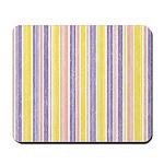 Pink, Purple, Yellow Stripe Mousepad