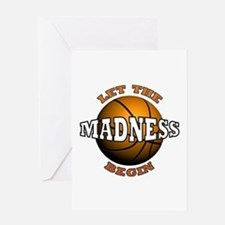Madness Begins - Greeting Card