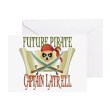 Captain Latrell Greeting Card