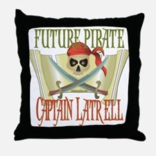 Captain Latrell Throw Pillow