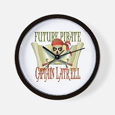 Captain Latrell Wall Clock