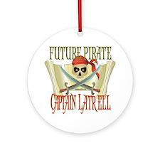 Captain Latrell Ornament (Round)