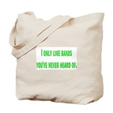 bands Tote Bag