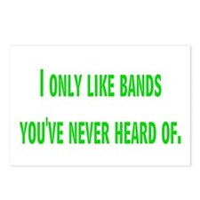 bands Postcards (Package of 8)