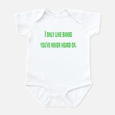 bands Infant Bodysuit