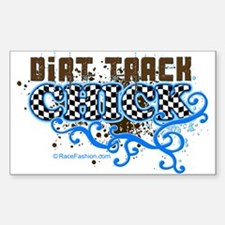 Dirt Chick 1 Rectangle Decal