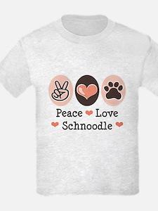 Peace Love Schnoodle T-Shirt