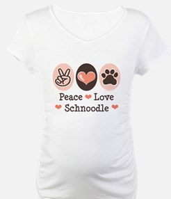 Peace Love Schnoodle Shirt