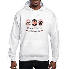 Peace Love Schnoodle Hoodie