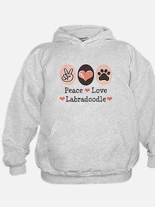Peace Love Labradoodle Hoodie