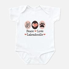 Peace Love Labradoodle Infant Bodysuit