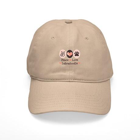 Peace Love Labradoodle Cap