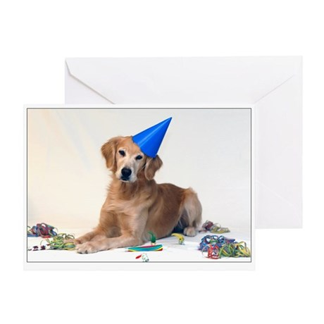 SNAPshotz Golden Retriever Birthday Card
