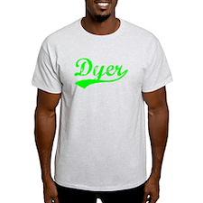 Vintage Dyer (Green) T-Shirt