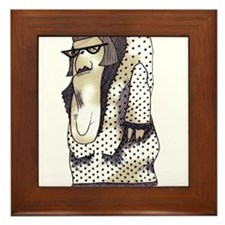 A Wife for Claude Framed Tile