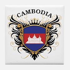 Cambodia Tile Coaster