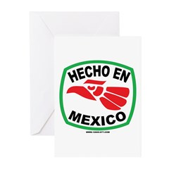 HECHO EN MEXICO Greeting Cards (Pk of 20)