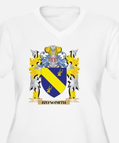 Hayworth Coat of Arms - Family C Plus Size T-Shirt