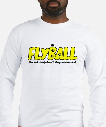 In Flyball Long Sleeve T-Shirt