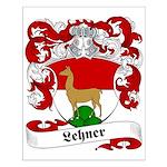 Lehner Family Crest Small Poster