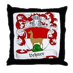 Lehner Family Crest Throw Pillow