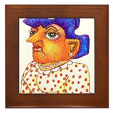 Hoodwinks Framed Tile