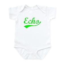 Vintage Echo (Green) Infant Bodysuit