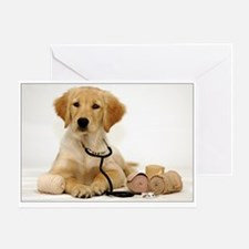 SNAPshotz Golden Puppy Get Well Soon Greeting Card