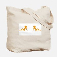 Mudflap Cowgirl Tote Bag