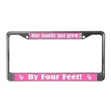 Twin Girls License Plate Frame