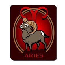 Aries Ram Mousepad Astrology Aries Mousepad