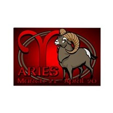 Aries Ram Fridge Magnet Astrology Aries Magnets