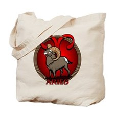 Aries Ram Tote Bag Astrology Aries Tote Bag