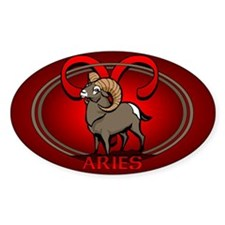 Aries Ram Sticker Astrology Art Aries Stickers