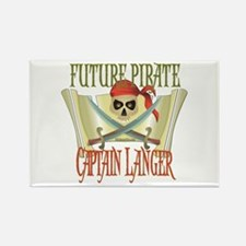 Captain Langer Rectangle Magnet