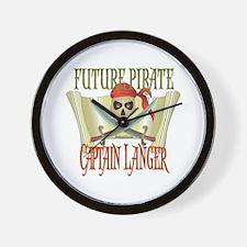 Captain Langer Wall Clock