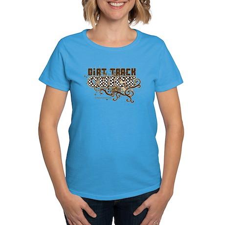 Dirt Chick 3 Women's Dark T-Shirt