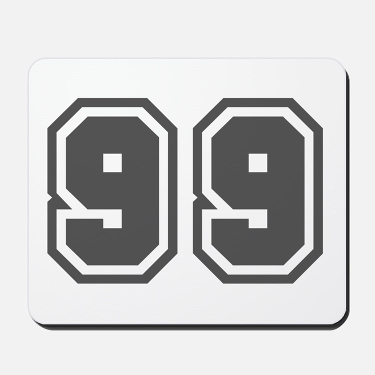 Number 99 Mousepad