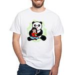 Panda Hugs White T-Shirt